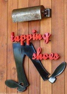 tapping shoes- potato head