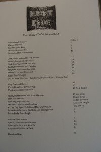 burnt ends menu- oct 3rd