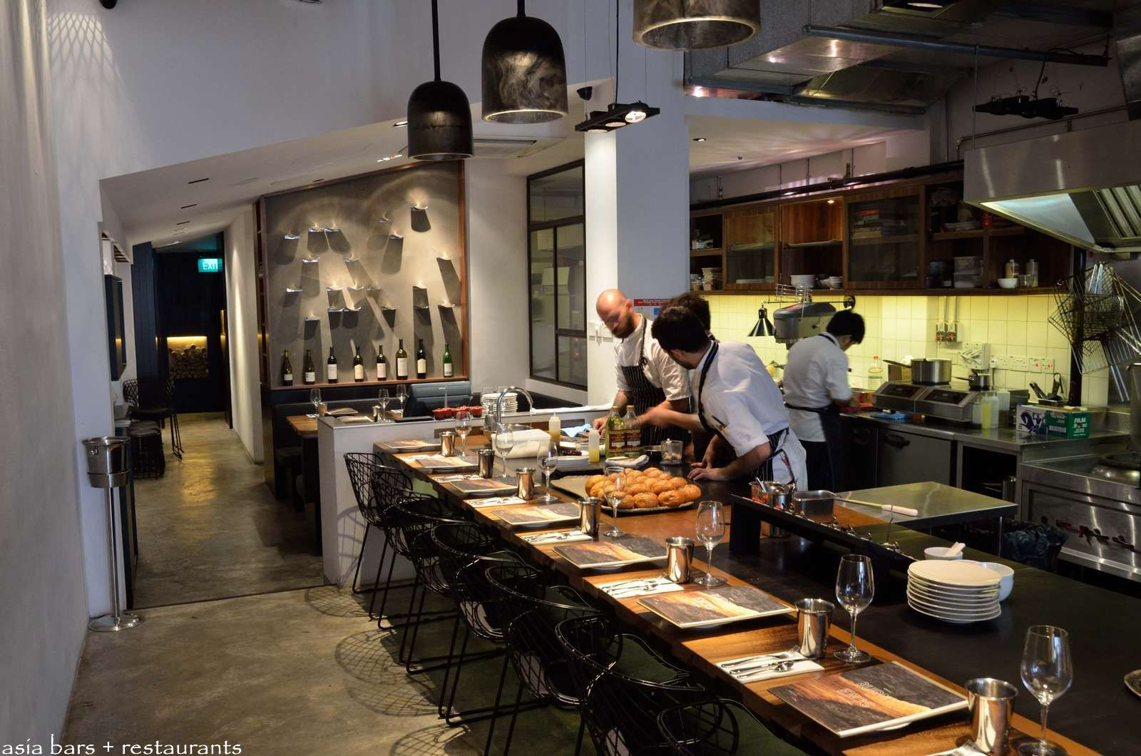 Burnt ends grill restaurant bar singapore asia bars restaurants - Charcoal grill restaurant ...