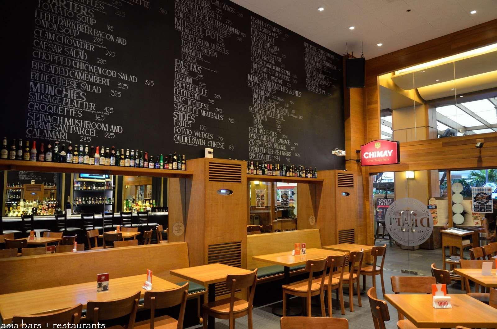 Draft gastropub european beer bar restaurant