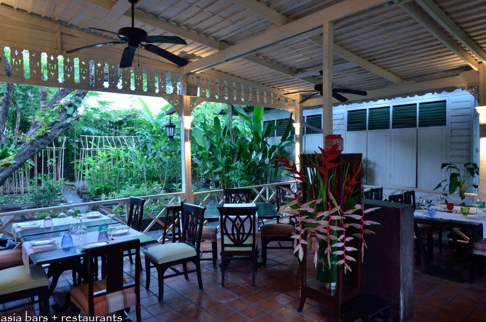 Issaya siamese club modern thai restaurant lounge in for Open terrace restaurants
