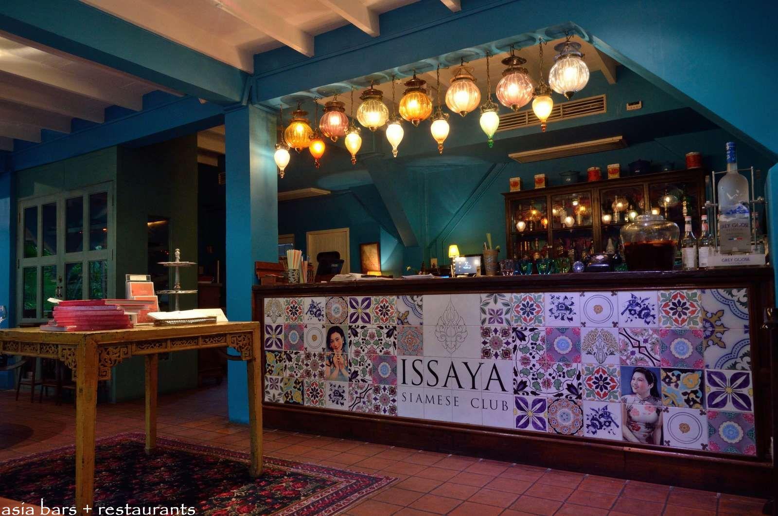 Issaya Siamese Club Modern Thai Restaurant Amp Lounge In
