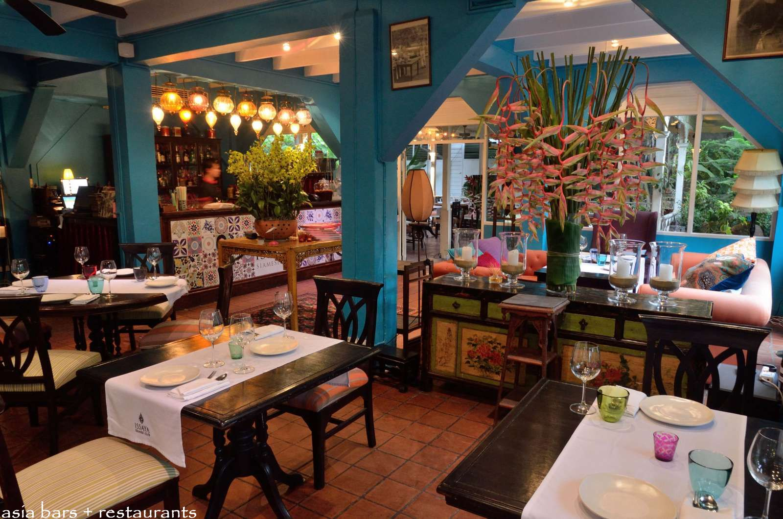 Asian cabaret restaurants