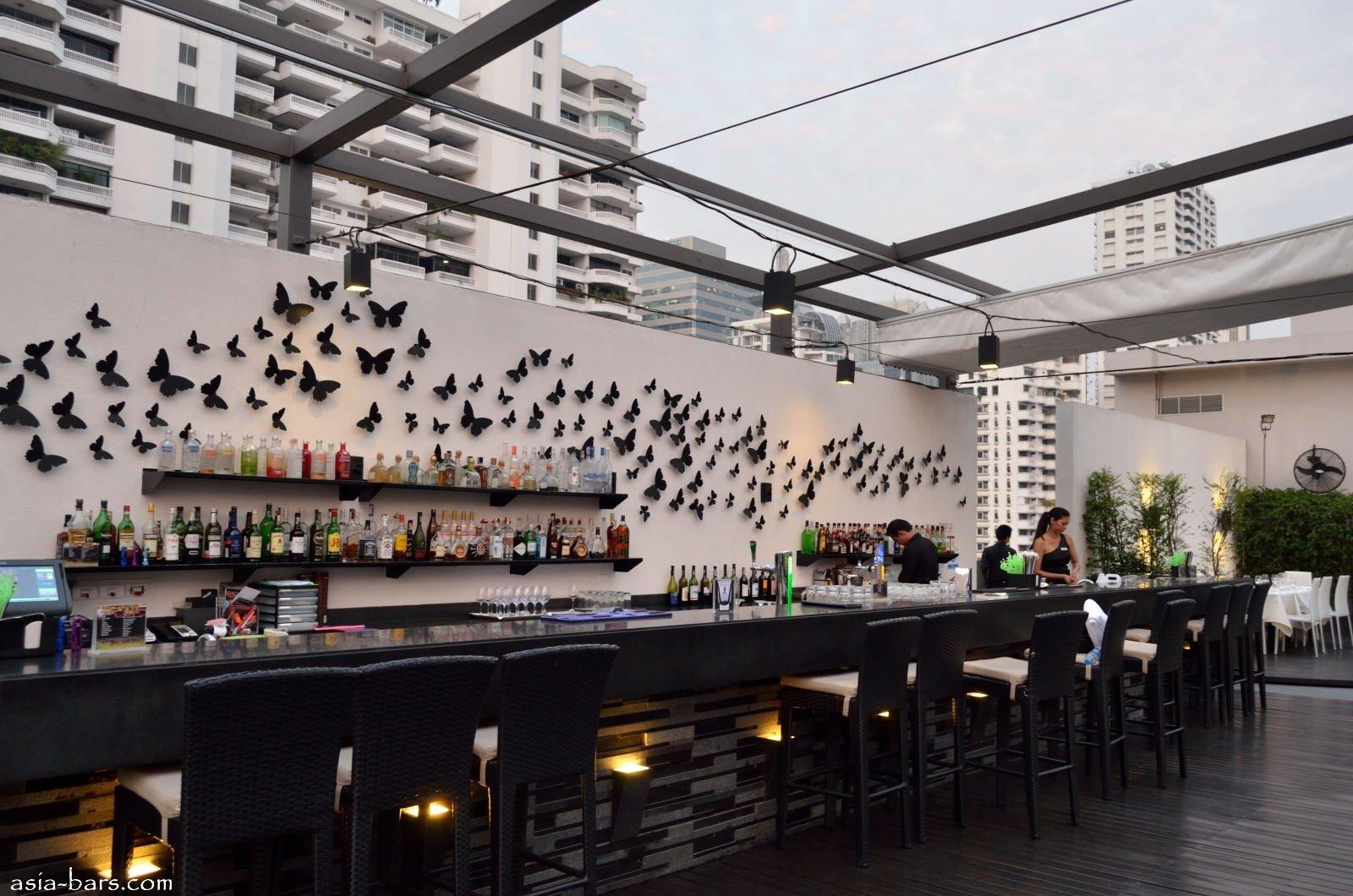 Ambar Rooftop Lounge Amp Bar In Bangkok Asia Bars