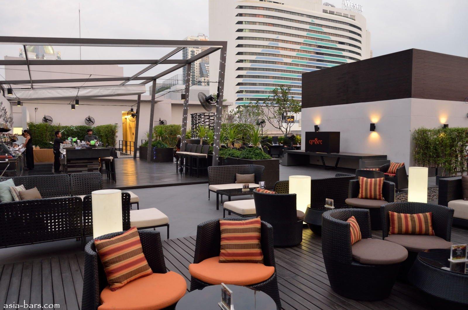 Ambar rooftop lounge bar in bangkok asia bars for The terrace lounge menu