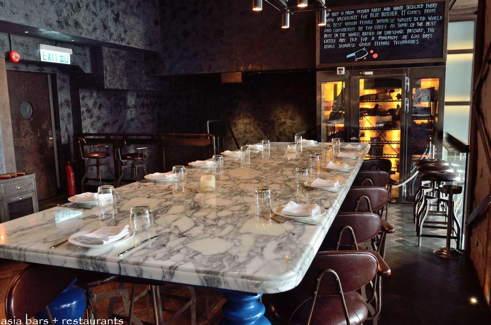 Blue Butcher Bar Amp Restaurant In Hong Kong Asia Bars