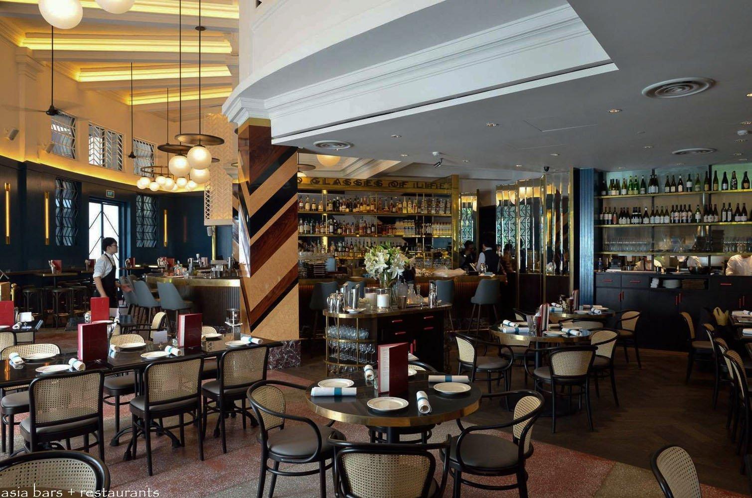 The Black Swan Grand Cafe Amp Bar Singapore Asia Bars