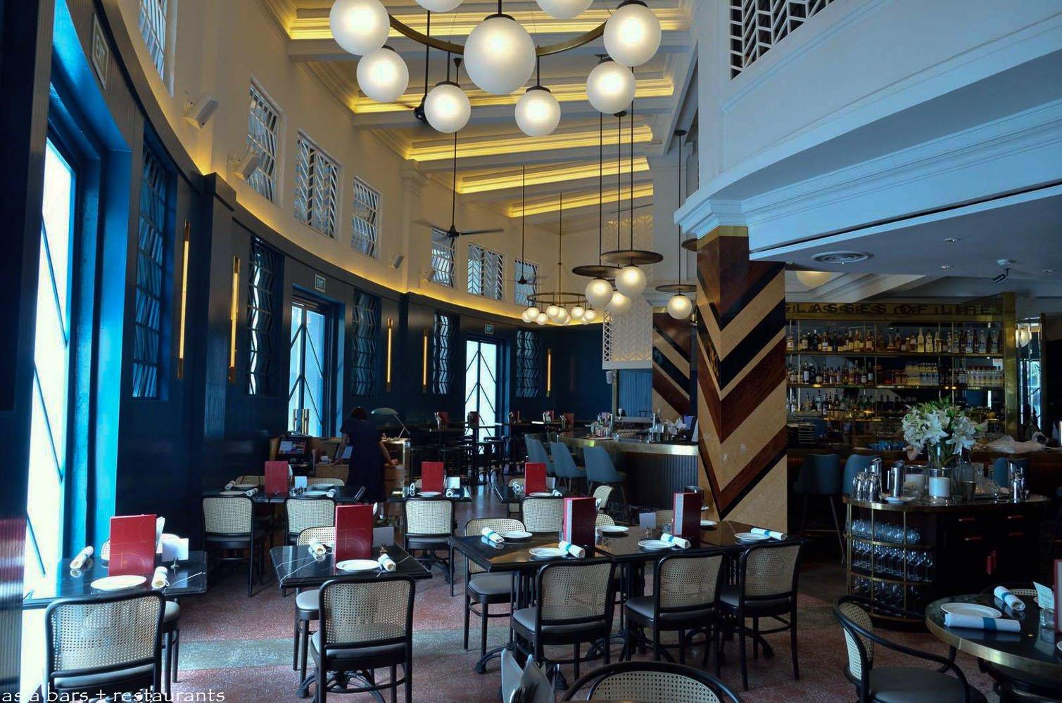 Swan Café Cape Town: The Black Swan- Grand Cafe & Bar- Singapore