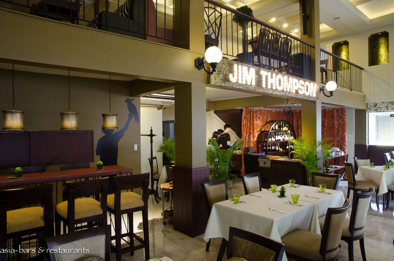 Jim Thompson Restaurant & Lounge- Bangkok | Asia Bars