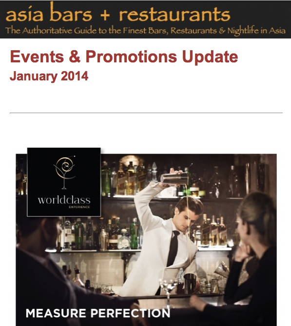 January 2014 events & promos