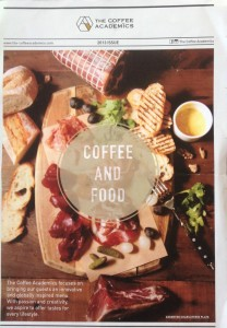 coffee academics menu