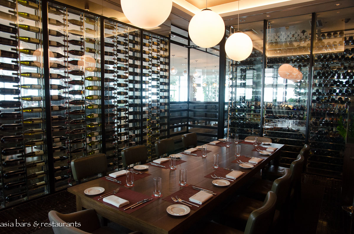 Zafferano Singapore One Of Two Private Dining Rooms