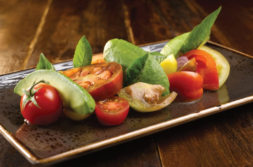 The Clifford Pier - Heirloom Tomatoes Salad