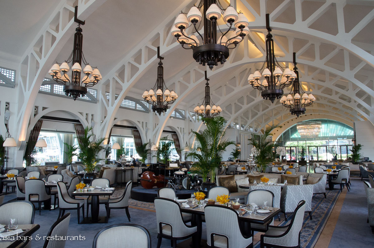The Clifford Pier Waterfront Restaurant At Fullerton Bay Hotel