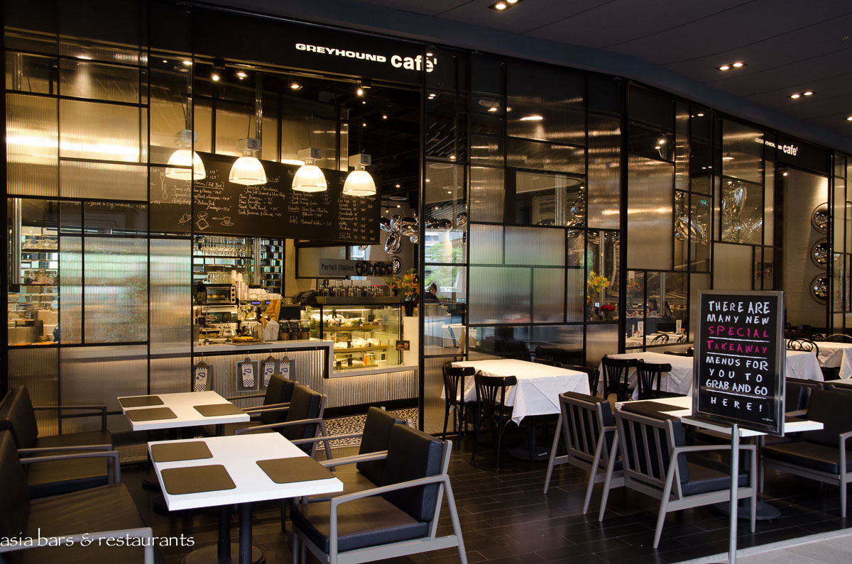Greyhound cafe at groove central world bangkok asia