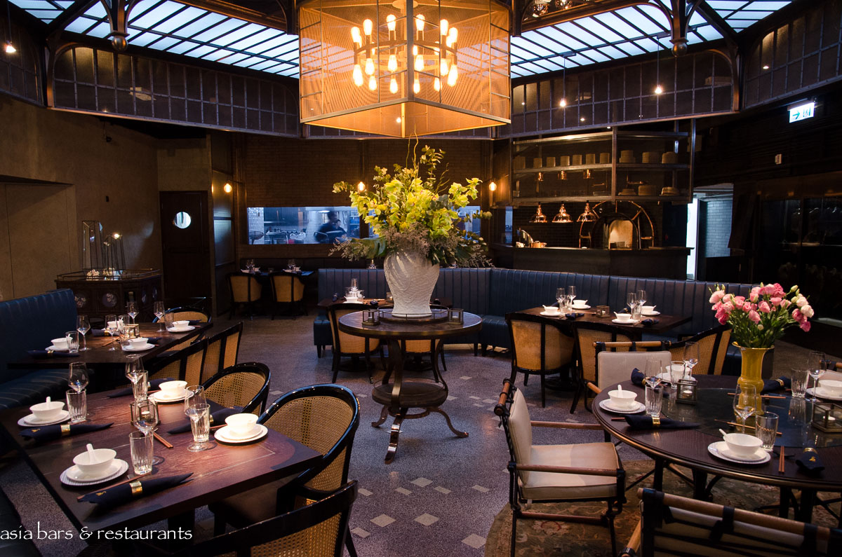Mott 32 chinese restaurant in hong kong asia bars for Interior design agency hong kong