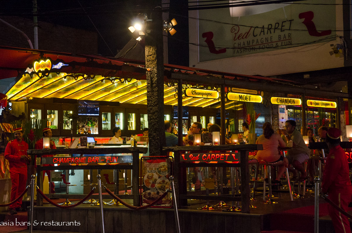 Red Carpet Champagne Bar Seminyak Bali Asia Bars