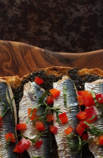 charlie grilled sardines