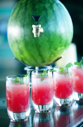 UNIQUE watermelon cocktails