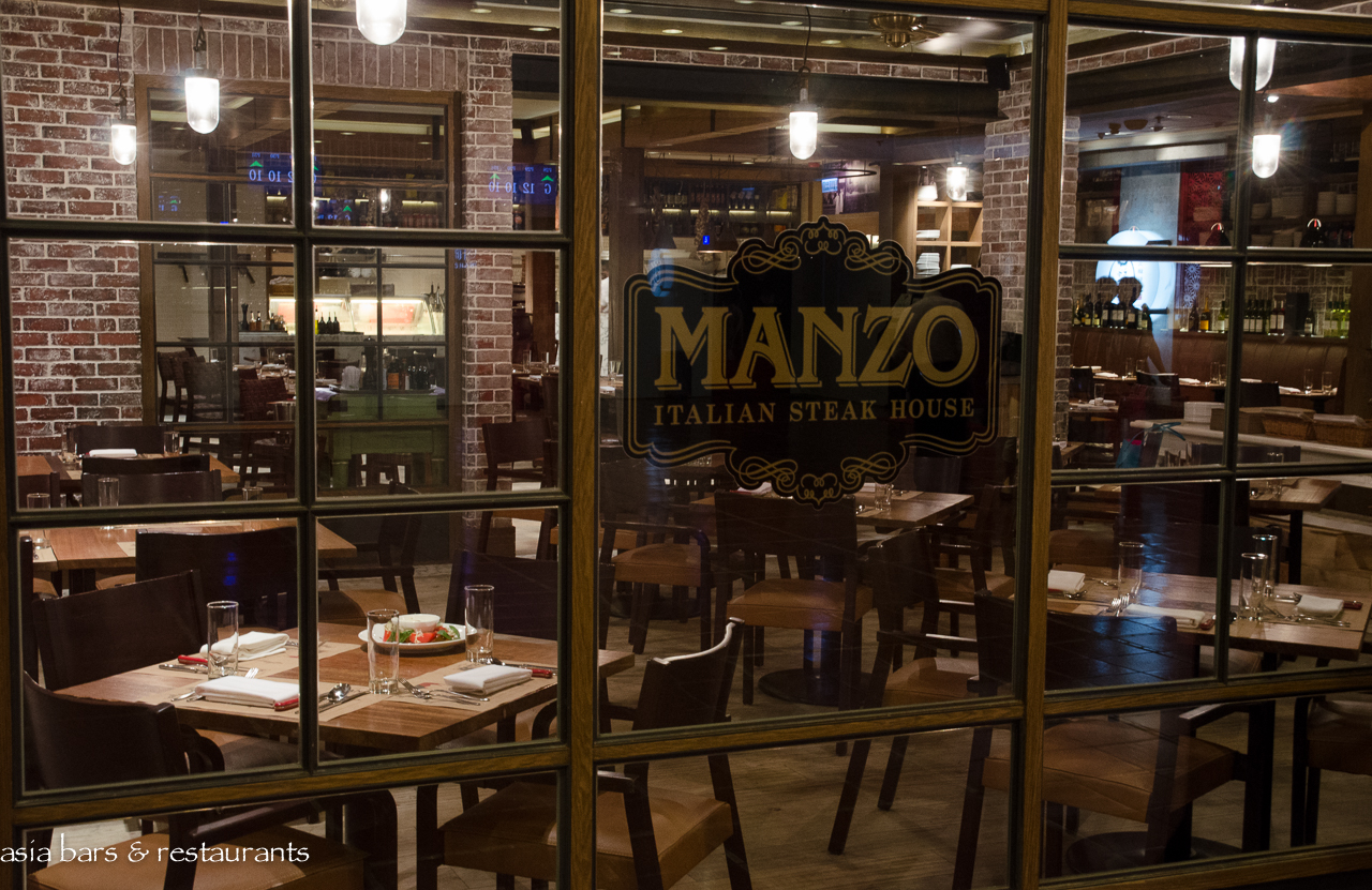 Manzo Italian Steak House In Hong Kong Asia Bars