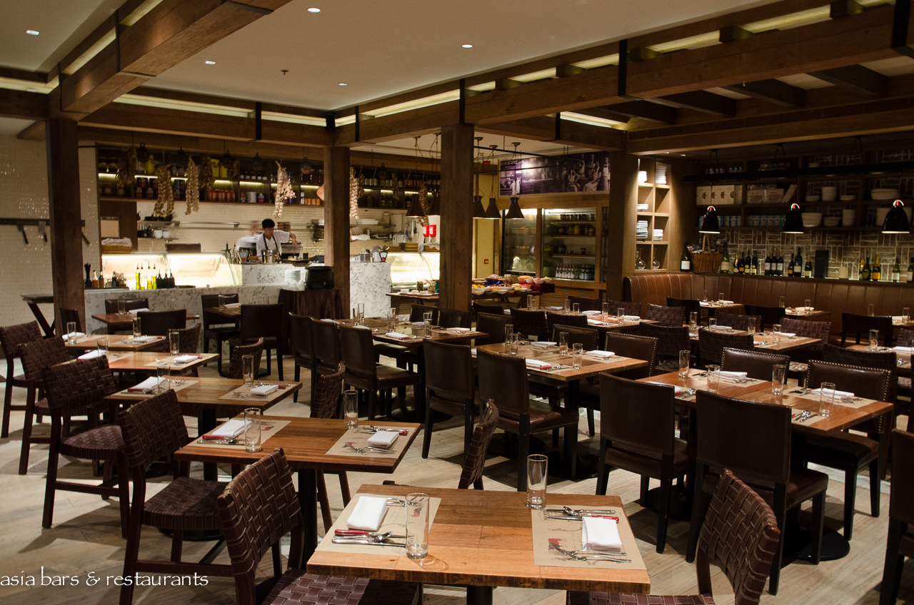 Manzo italian steak house in hong kong asia bars for Home restaurant