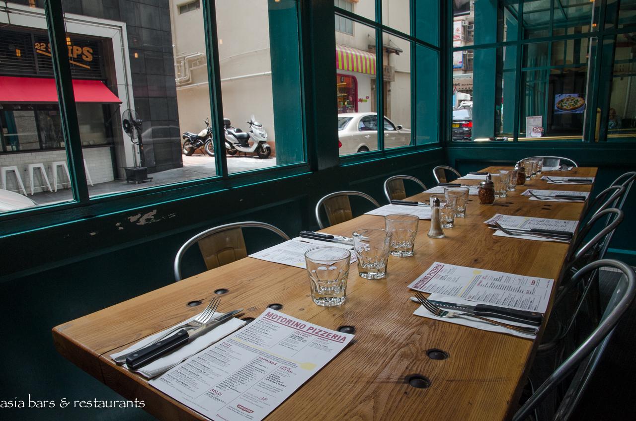 Motorino Pizzeria In Hong Kong Asia Bars Amp Restaurants