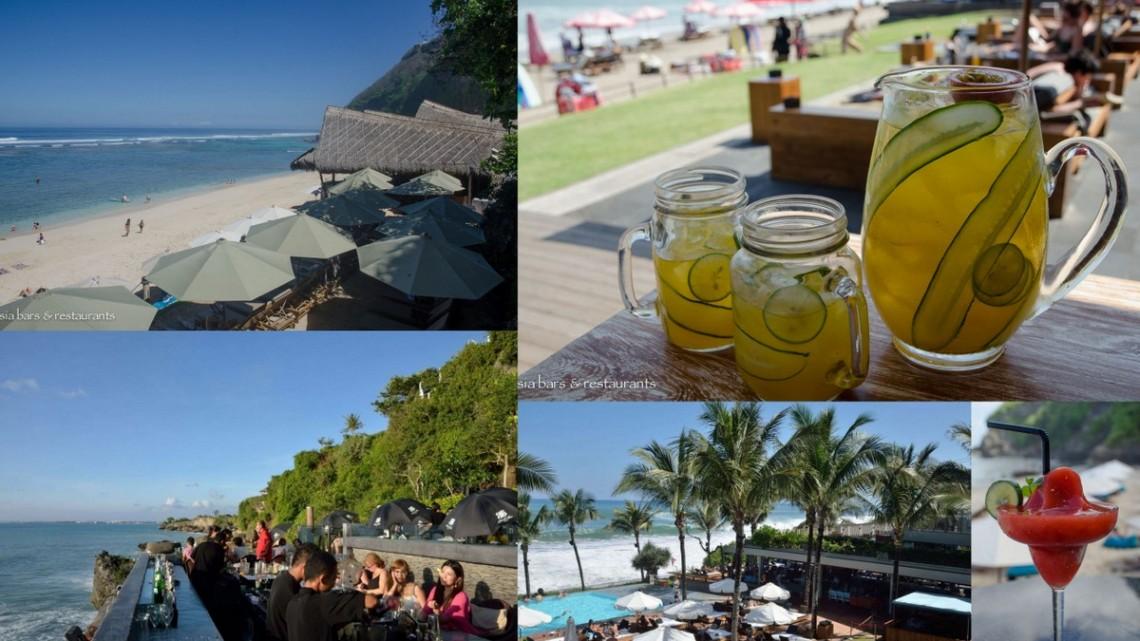 bali beachfront bars