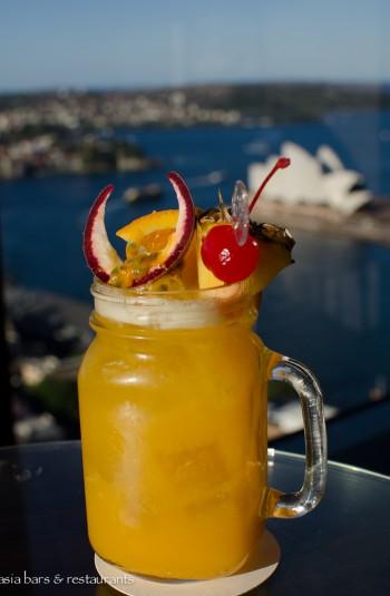 blu bar shangri la sydney