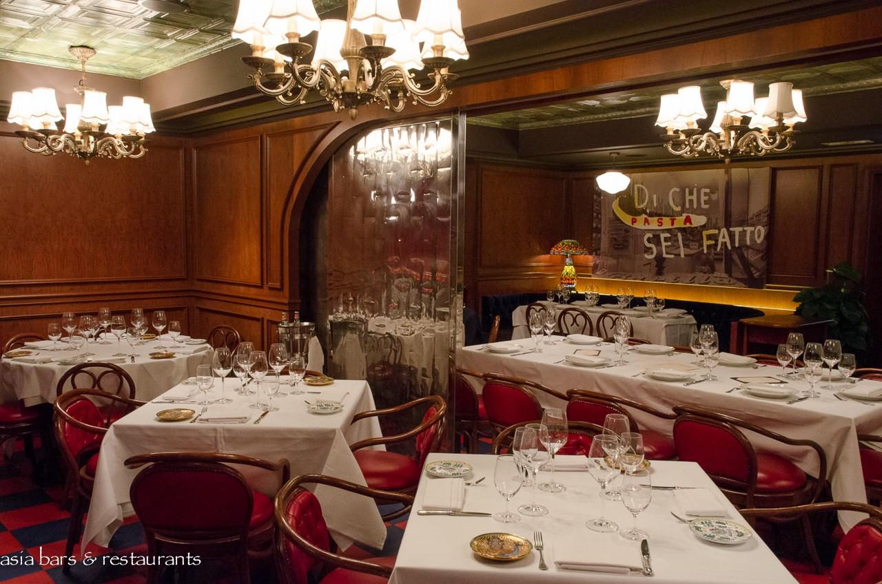 Carbone italian american restaurant in hong kong asia
