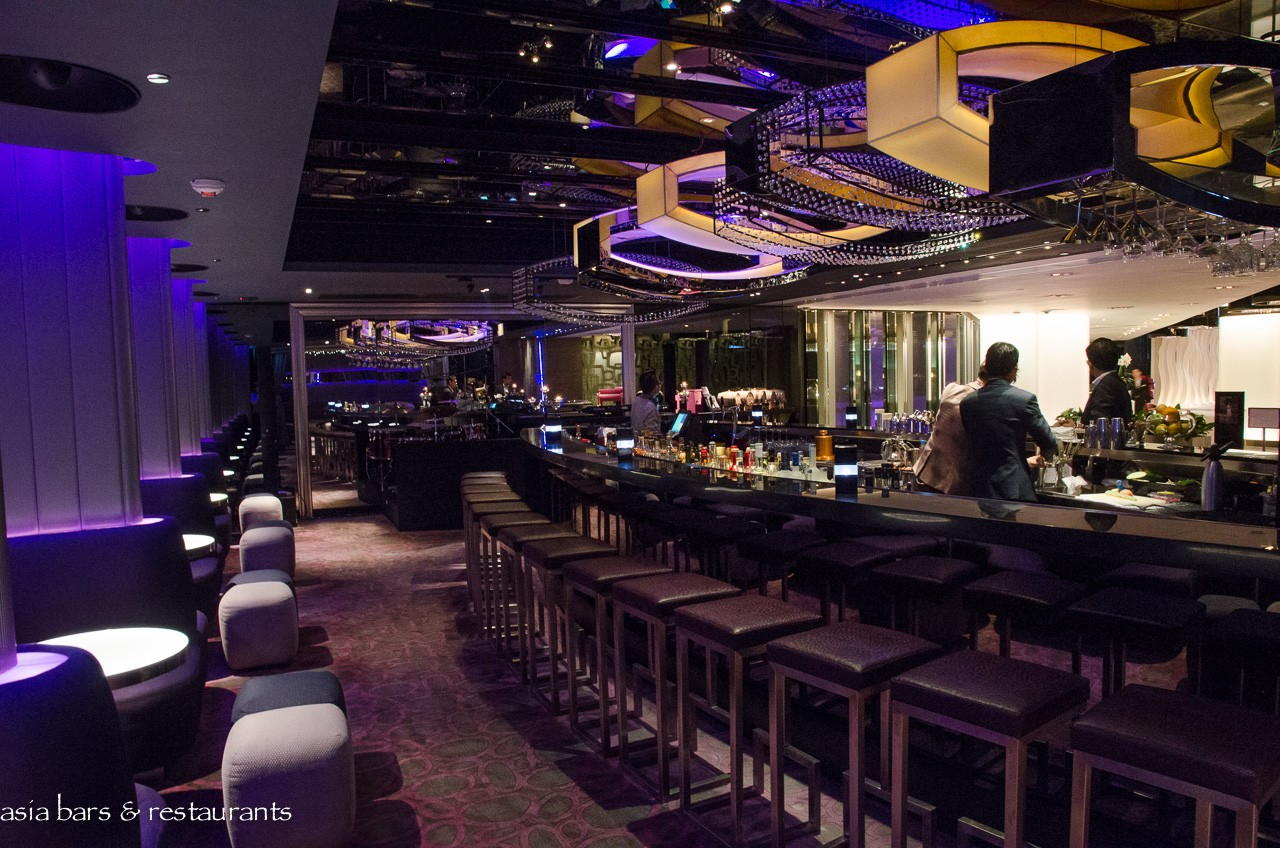 room one lounge bar at the mira hong kong asia bars restaurants. Black Bedroom Furniture Sets. Home Design Ideas