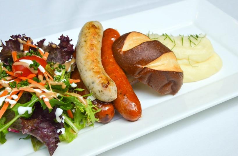 brotzeit Mixed Sausage Plate