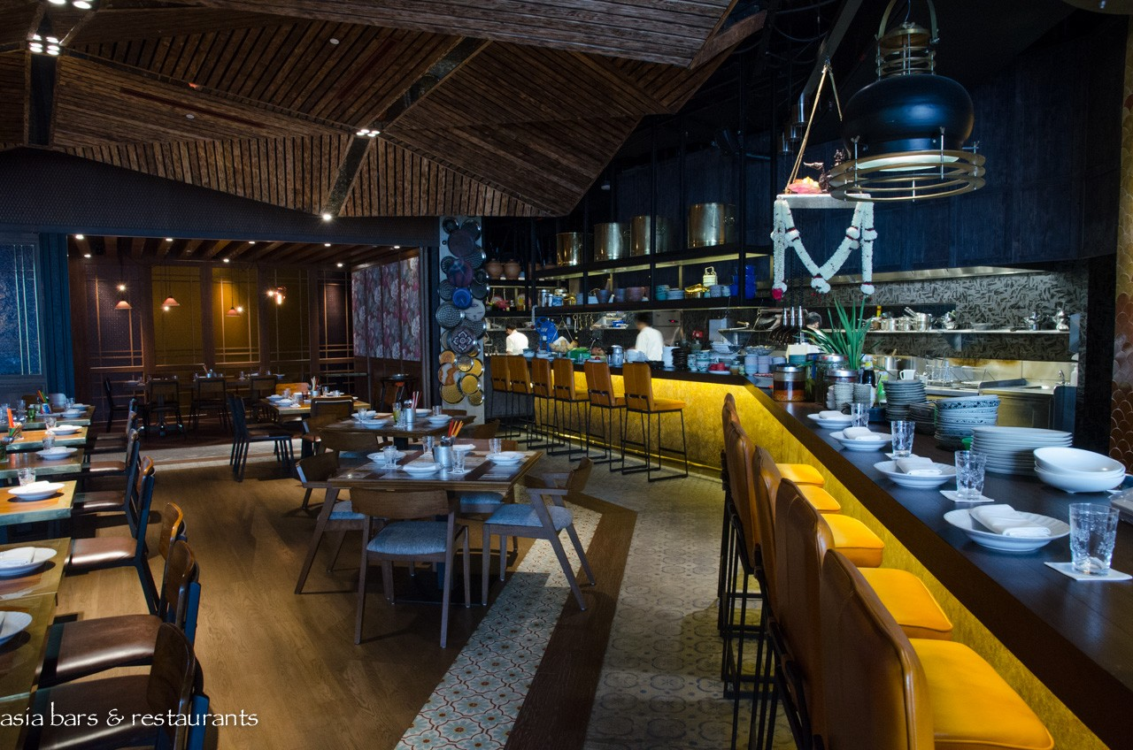 Long chim thai restaurant at marina bay sands in