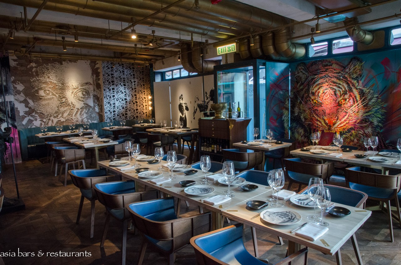 Contemporary Dining Room Buffet Decor