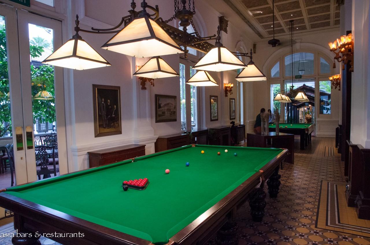 Raffles Bar Amp Billiard Room Historic Bar At Raffles