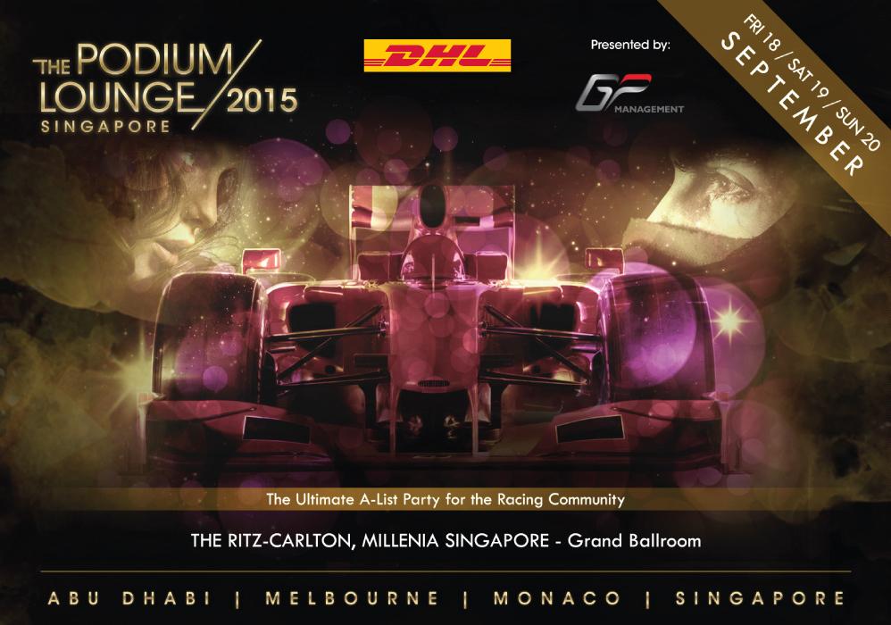 The Podium Lounge Singapore 2015 - DHL Promo