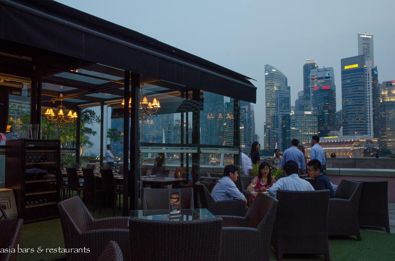 Orgo Rooftop Bar Amp Restaurant In Singapore Asia Bars