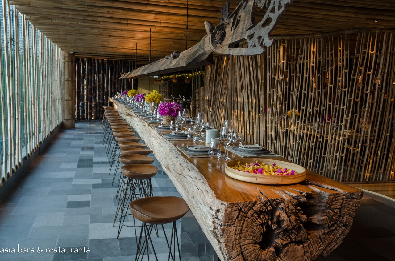 Tri contemporary balinese restaurant in hong kong asia