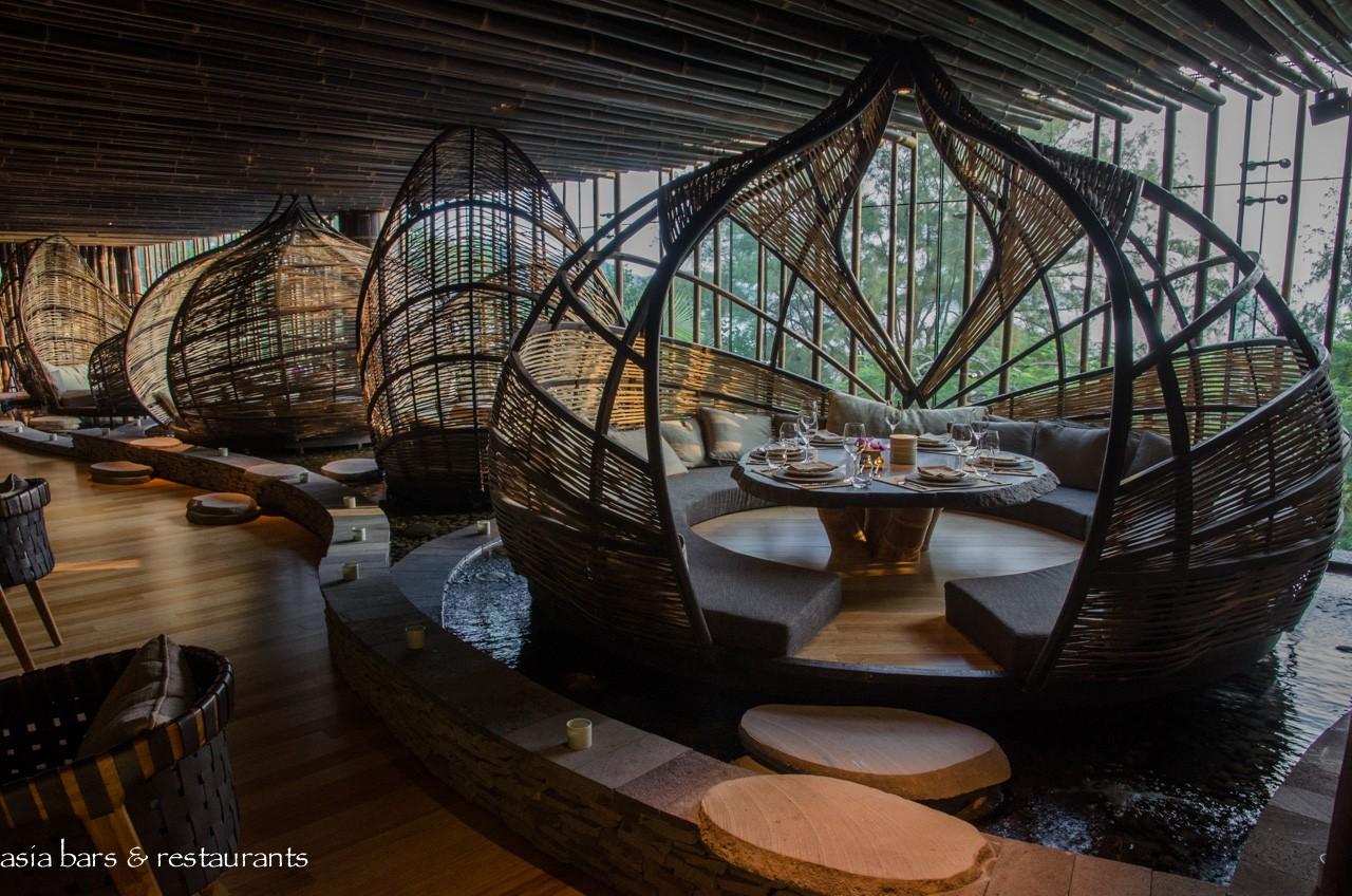 Tri Contemporary Balinese Restaurant In Hong Kong Asia Bars Restaurants