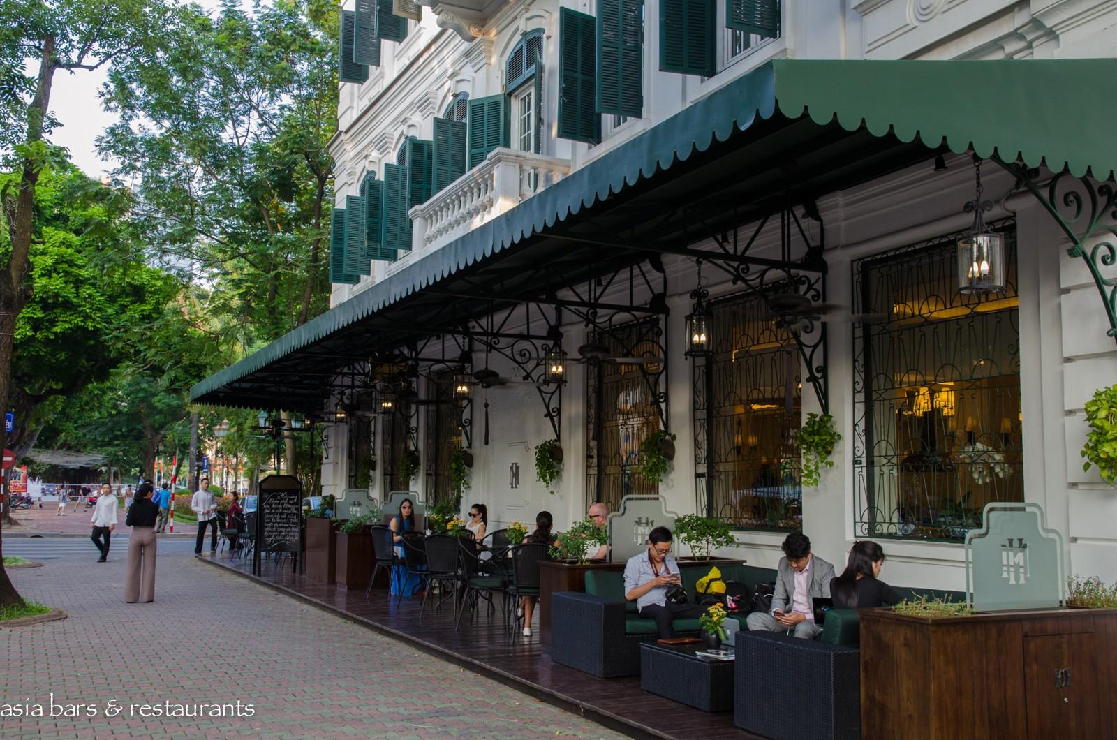 La Terrasse French Cafe At Sofitel Metropole Hanoi Asia