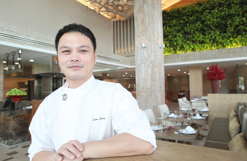 Chef Sam Leong in Forest