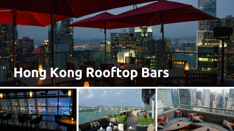 Hong Kong Rooftop bars 2015