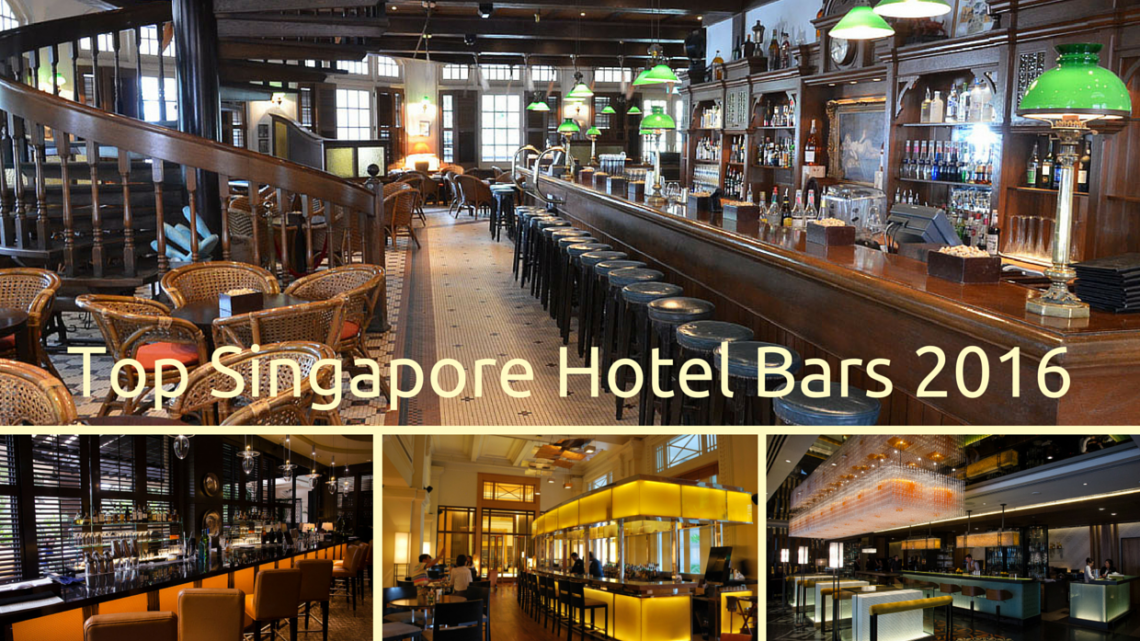 Top Singapore Hotel Bar Bars 2016