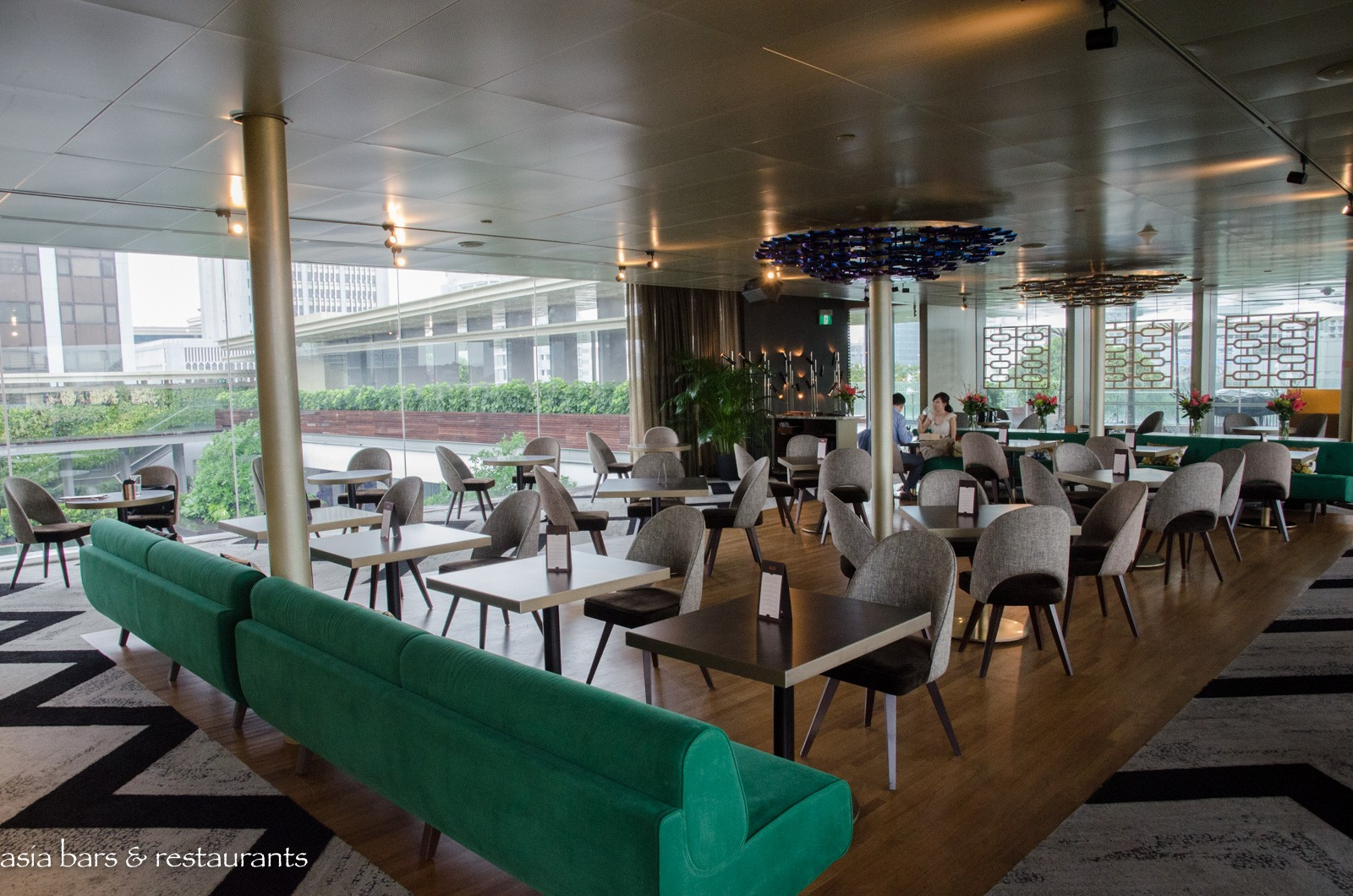 Aura Italian Restaurant & Sky Lounge – at National Gallery Singapore | Asia Bars & Restaurants
