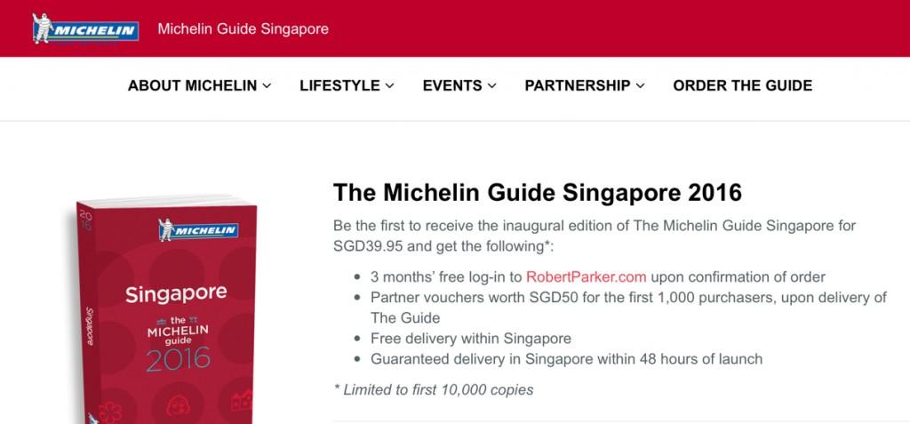 michelin guide singapore 2016