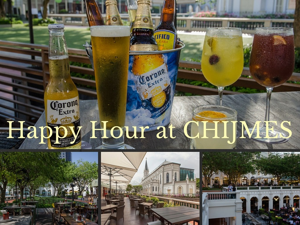Best Happy Hour promotions at CHIJMES – a premier dining