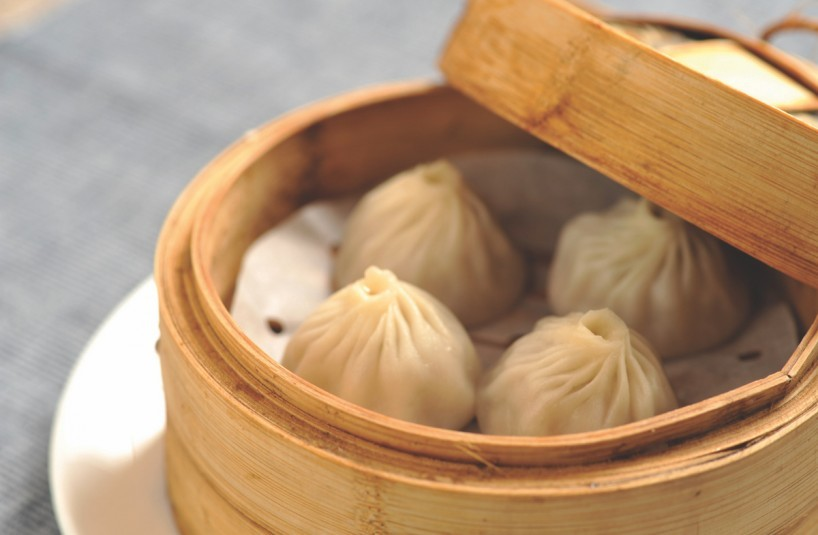 Steamed Shanghai Pork Dumpling-