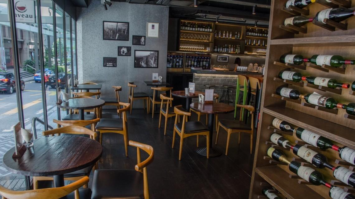 caveau bar singapore