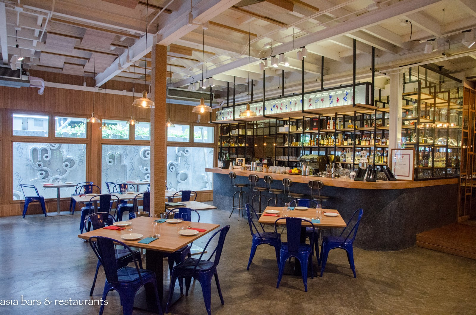 Baa Ga Din Modern Thai Street Food Restaurant In Bangkok