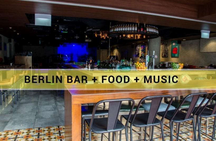 berlin + bar + food + music