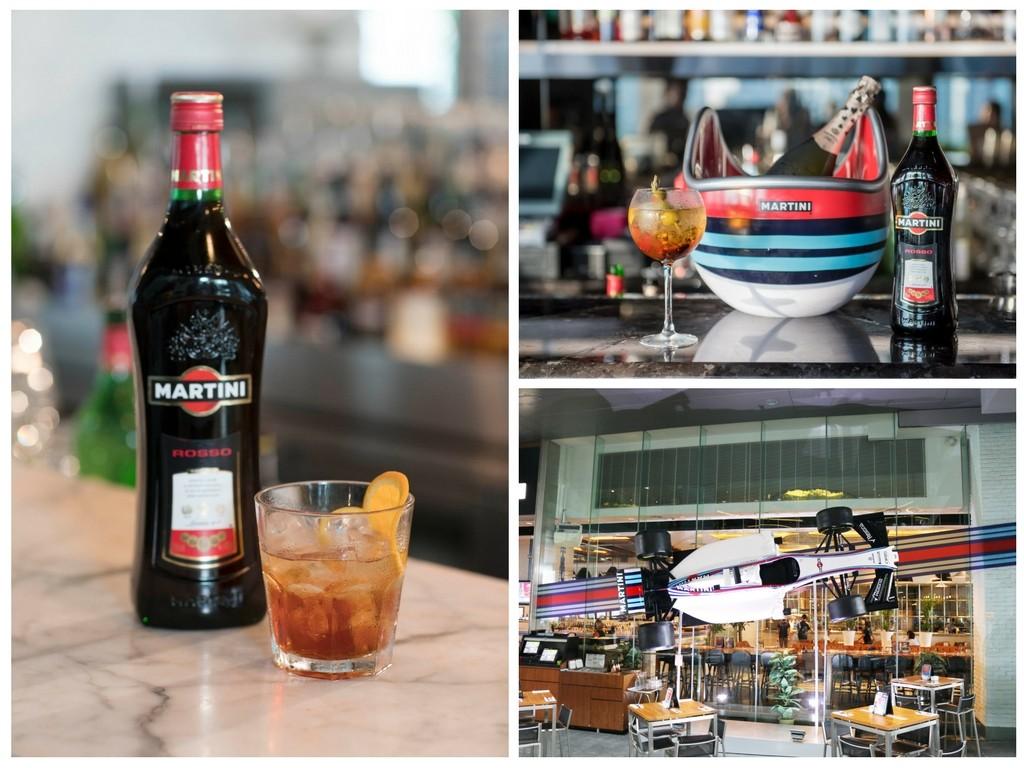 martini F1 cocktails